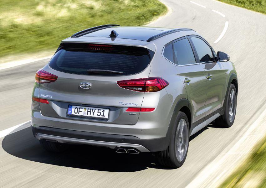 Hyundai Tucson <em>facelift</em> 2019 terima enjin turbodiesel dengan sistem hibrid ringkas 48V di pasaran Eropah Image #824610