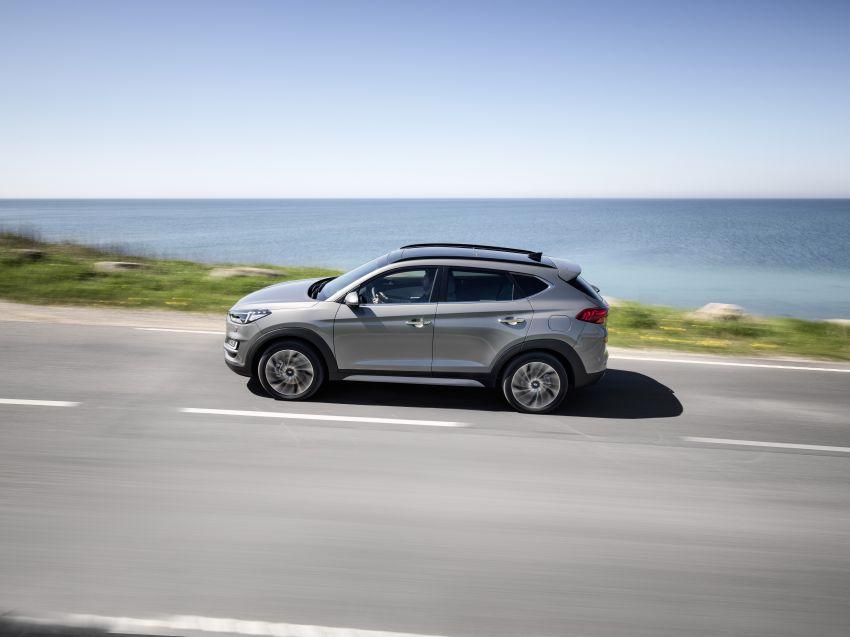 Hyundai Tucson facelift – 48V mild hybrid in Europe Image #824440