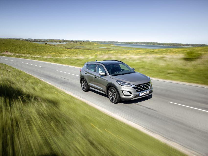 Hyundai Tucson facelift – 48V mild hybrid in Europe Image #824441