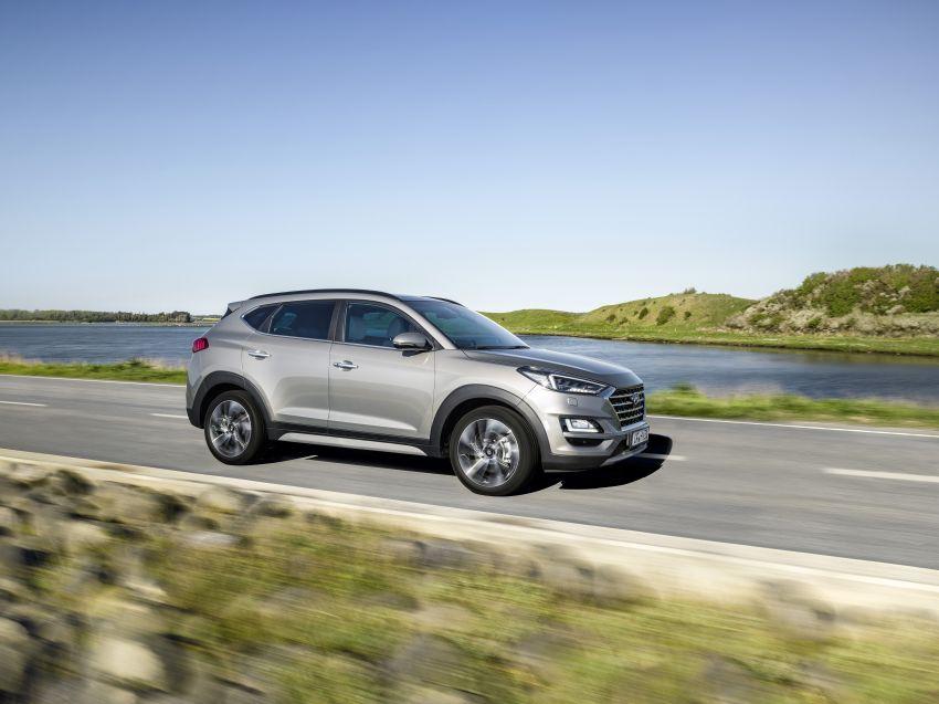Hyundai Tucson facelift – 48V mild hybrid in Europe Image #824443