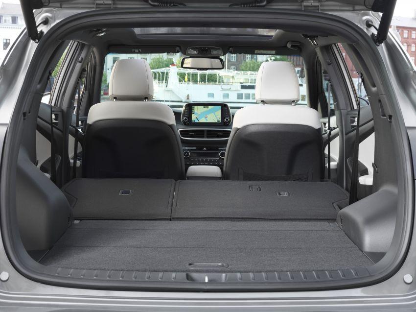 Hyundai Tucson facelift – 48V mild hybrid in Europe Image #824454