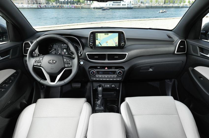 Hyundai Tucson facelift – 48V mild hybrid in Europe Image #824458