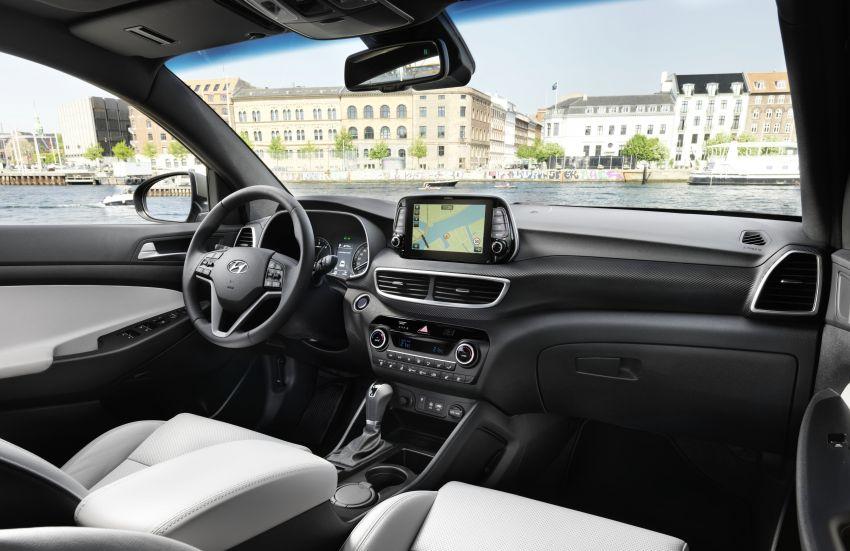 Hyundai Tucson <em>facelift</em> 2019 terima enjin turbodiesel dengan sistem hibrid ringkas 48V di pasaran Eropah Image #824584