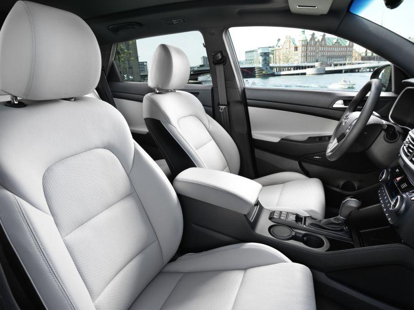 Hyundai Tucson <em>facelift</em> 2019 terima enjin turbodiesel dengan sistem hibrid ringkas 48V di pasaran Eropah Image #824582