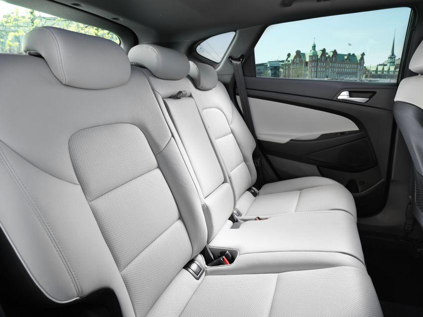 Hyundai Tucson facelift – 48V mild hybrid in Europe Image #824461