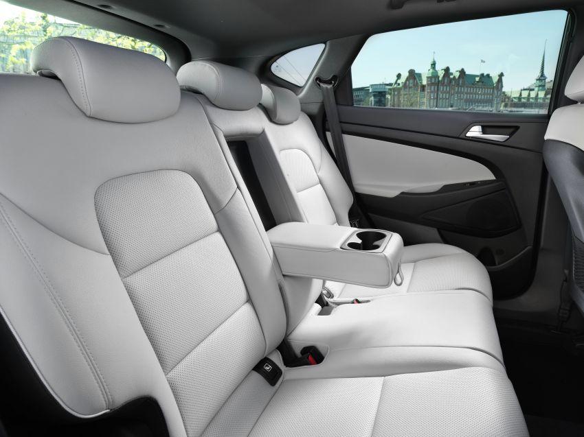 Hyundai Tucson facelift – 48V mild hybrid in Europe Image #824462