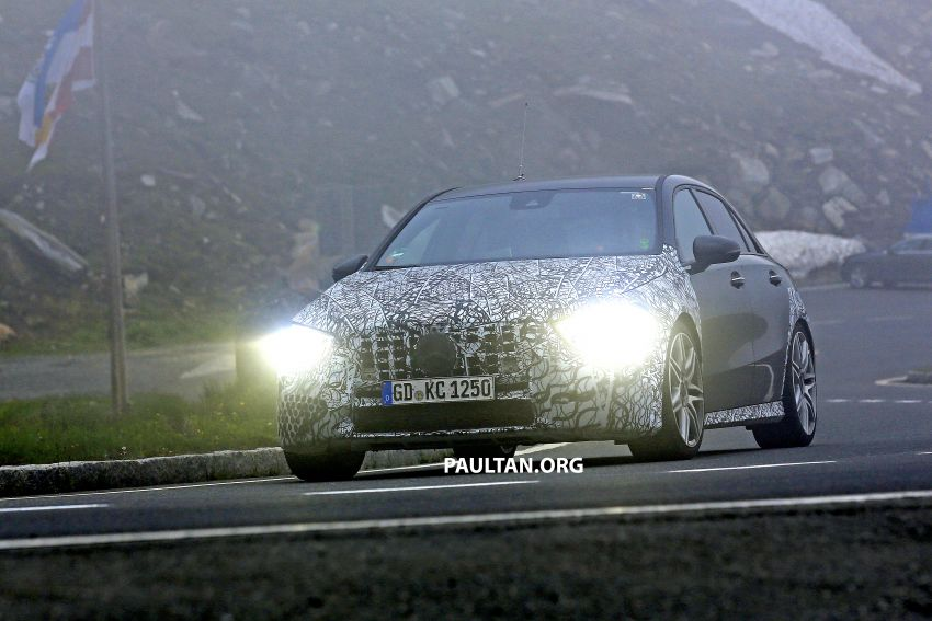 SPIED: New Mercedes-AMG A45 is really aggressive Image #828804