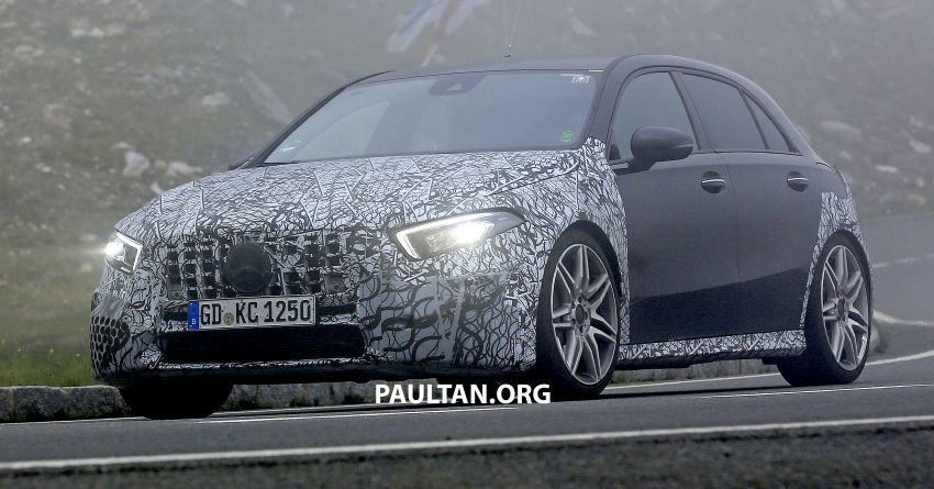 SPIED: New Mercedes-AMG A45 is really aggressive Image #828805