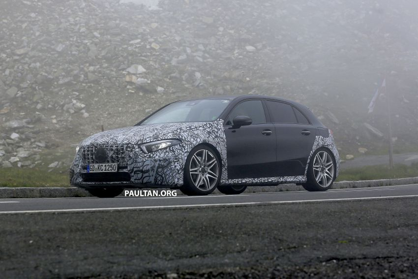 SPIED: New Mercedes-AMG A45 is really aggressive Image #828806