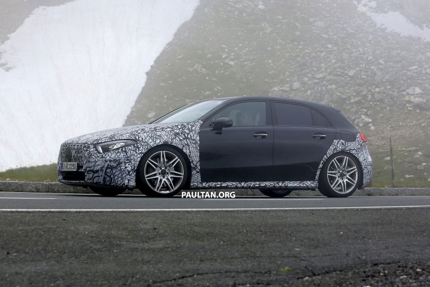 SPIED: New Mercedes-AMG A45 is really aggressive Image #828807