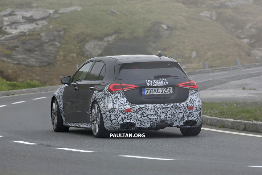SPIED: New Mercedes-AMG A45 is really aggressive Image #828811