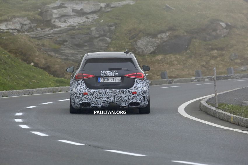 SPIED: New Mercedes-AMG A45 is really aggressive Image #828812