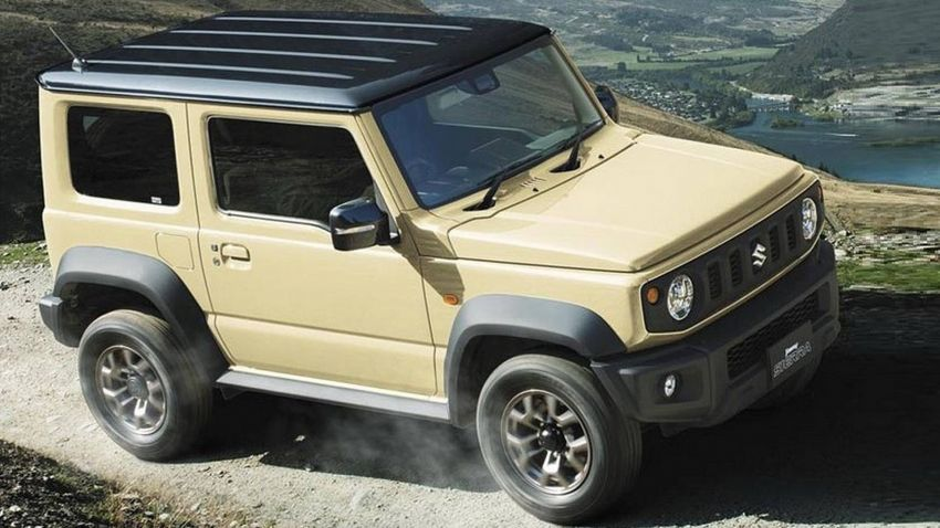 New Suzuki Jimny revealed – a cool, baby G-Wagen Image #828186