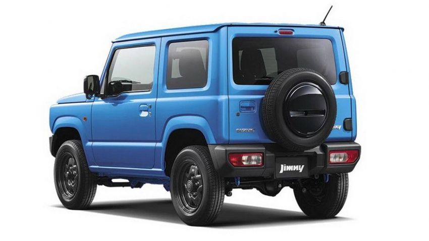 New Suzuki Jimny revealed – a cool, baby G-Wagen Image #828193