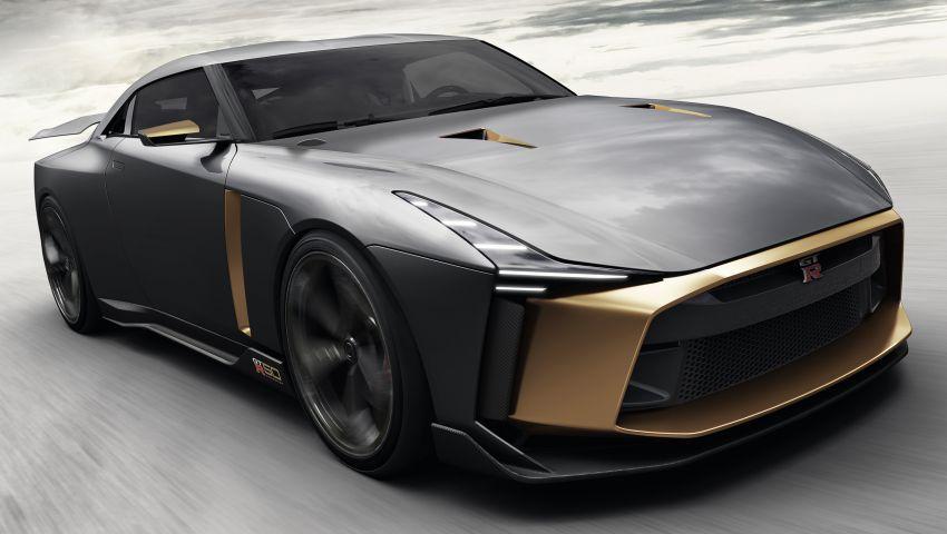 Nissan GT-R50 Italdesign – projek sambut ulang tahun Image #832951