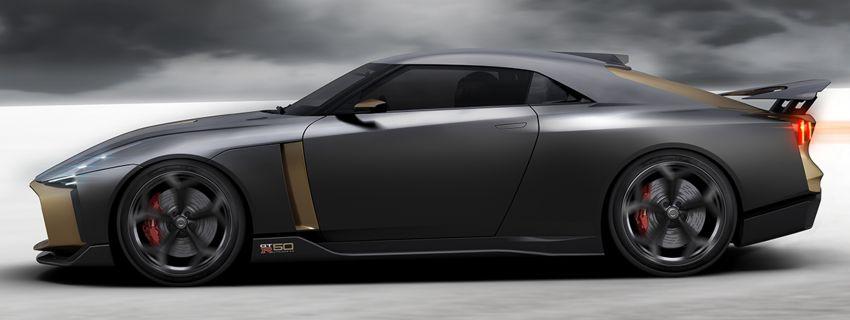 Nissan GT-R50 Italdesign – projek sambut ulang tahun Image #832962