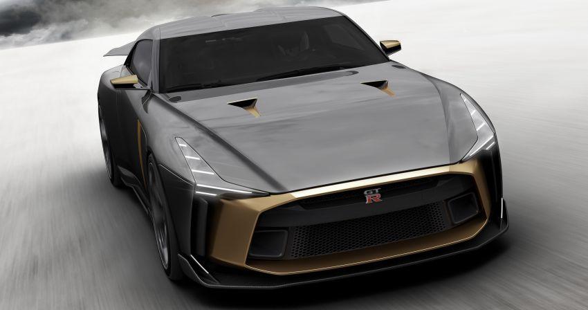 Nissan GT-R50 Italdesign – projek sambut ulang tahun Image #832953