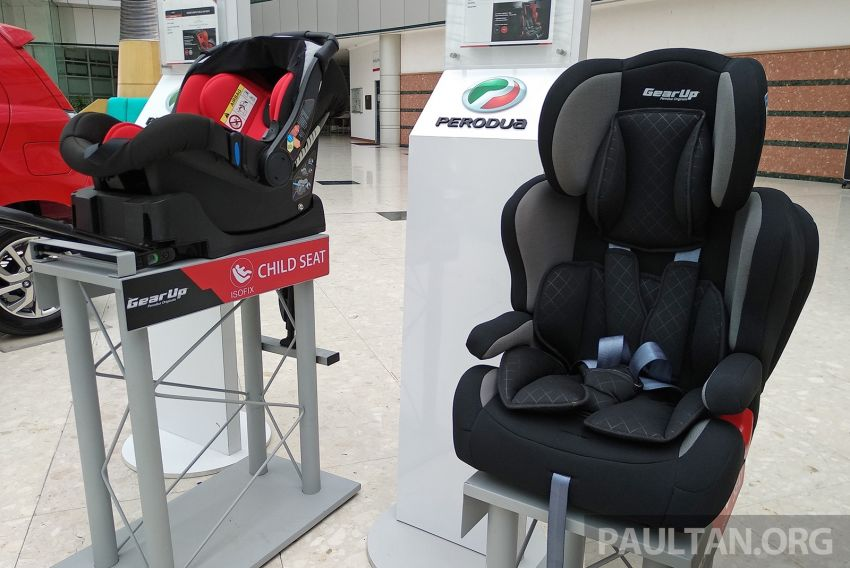 Perodua giving away 100 free Gear Up child seats tomorrow, at three outbound Petronas stations Image #825690
