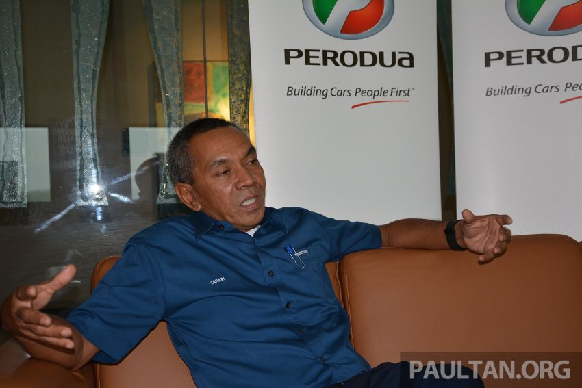Viralled car is not the Perodua SUV, all-new model unlikely to be launched in 2018 – P2's MD Zahari Image #826244