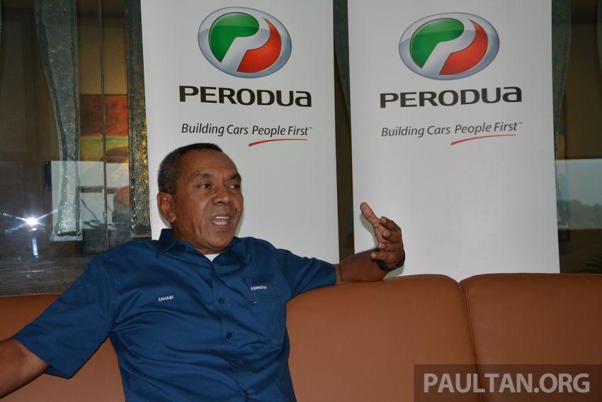 Perodua sales chief Zahari Husin on 52% market share, an eventful May and no tax holiday for the Myvi Image #826773