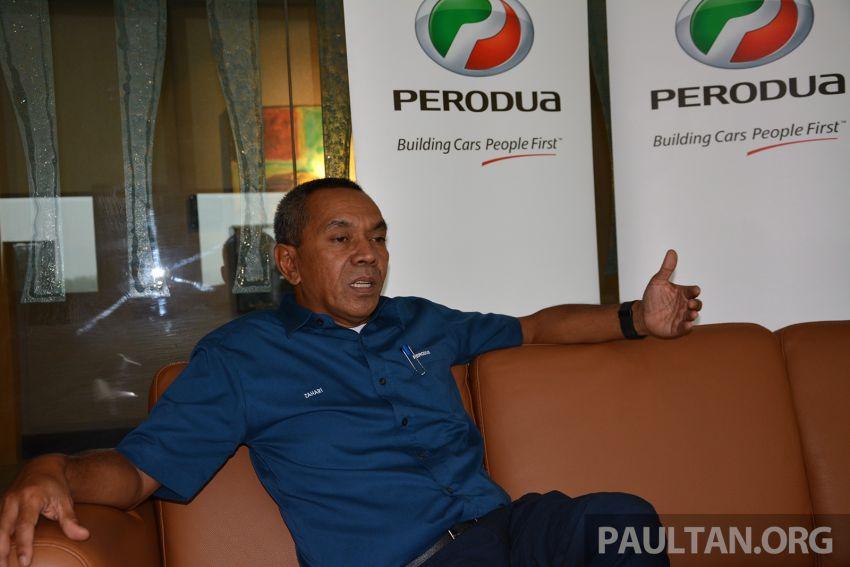 Perodua sales chief Zahari Husin on 52% market share, an eventful May and no tax holiday for the Myvi Image #826774