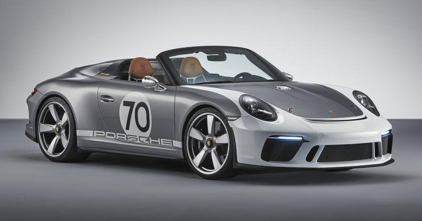 Porsche 911 Speedster Concept – a modern classic Image #825633