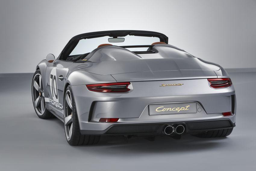 Porsche 911 Speedster Concept – a modern classic Image #825645