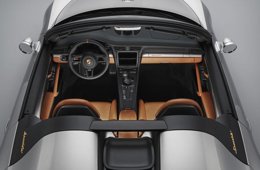 Porsche 911 Speedster Concept – a modern classic Image #825647