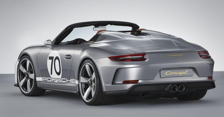 Porsche 911 Speedster Concept – a modern classic Image #825635