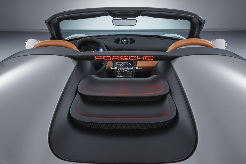 Porsche 911 Speedster Concept – a modern classic Image #825637