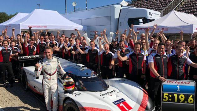 Porsche sets Nurburgring record with 919 Hybrid Evo