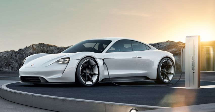 Porsche Taycan – all-electric sports car gets a name Image #825512