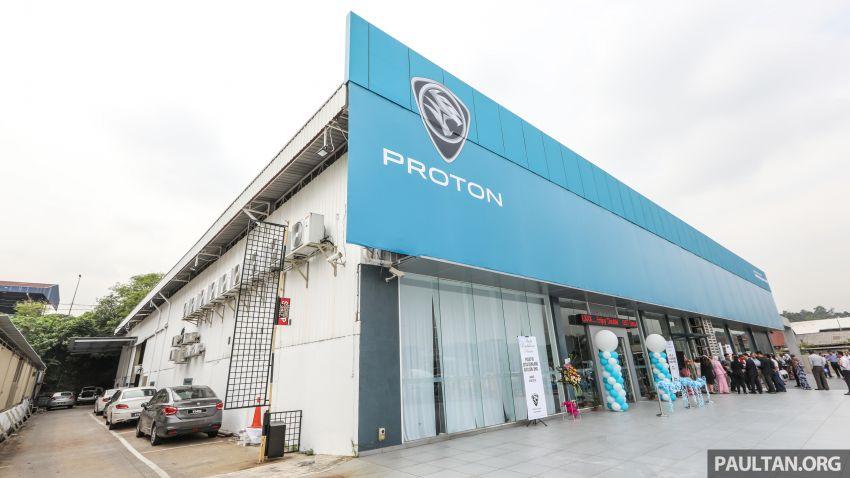 Proton launches upgraded 4S centre, new light blue CI Image #825233