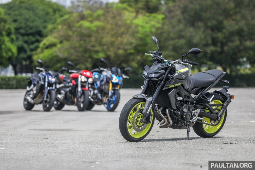 Honda CB650F, Kawasaki Z900 ABS, Triumph 765S, Yamaha MT-09 – which RM50k bike is best for you? Image #829385
