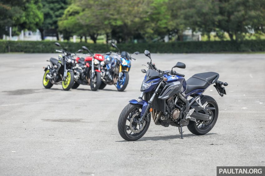 Honda CB650F, Kawasaki Z900 ABS, Triumph 765S, Yamaha MT-09 – which RM50k bike is best for you? Image #829389