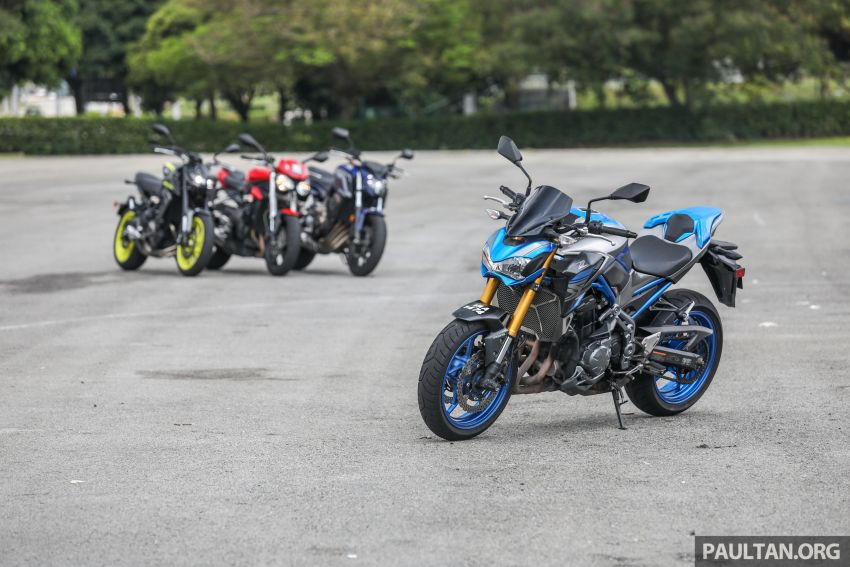 Honda CB650F, Kawasaki Z900 ABS, Triumph 765S, Yamaha MT-09 – which RM50k bike is best for you? Image #829395