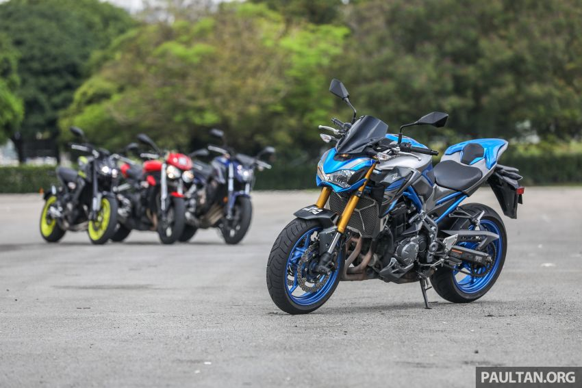 Honda CB650F, Kawasaki Z900 ABS, Triumph 765S, Yamaha MT-09 – which RM50k bike is best for you? Image #829396