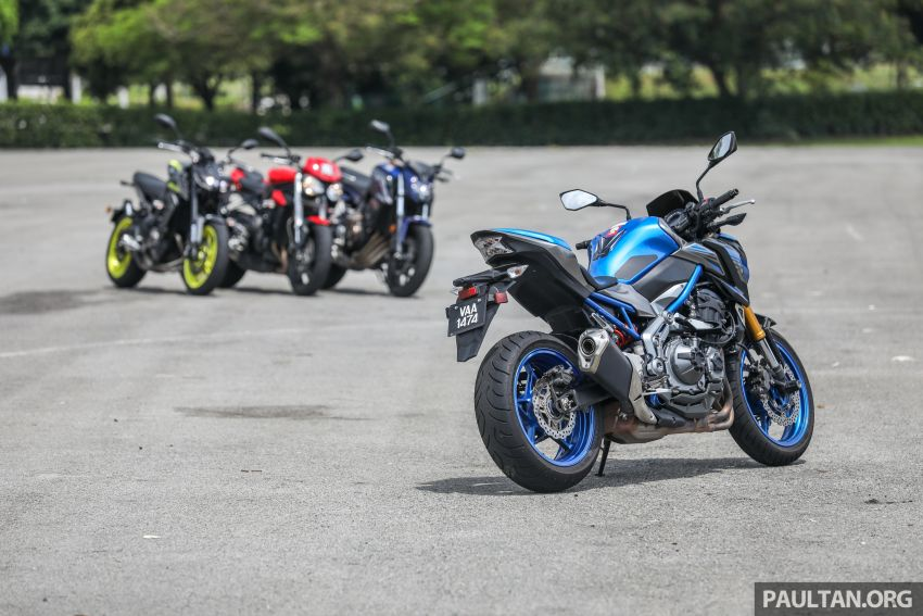 Honda CB650F, Kawasaki Z900 ABS, Triumph 765S, Yamaha MT-09 – which RM50k bike is best for you? Image #829399