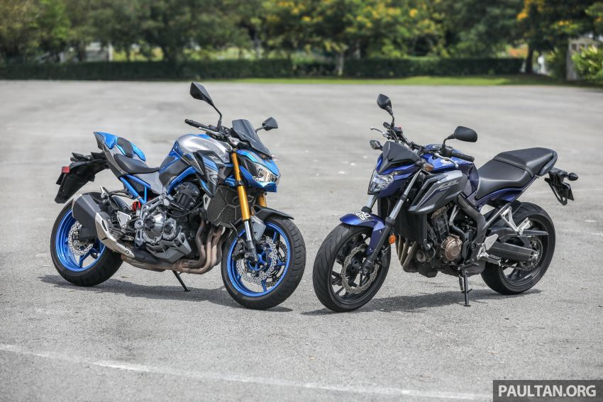 Honda CB650F, Kawasaki Z900 ABS, Triumph 765S, Yamaha MT-09 – which RM50k bike is best for you? Image #829407