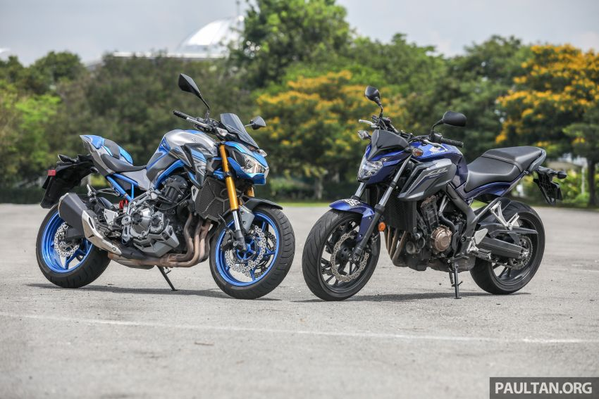 Honda CB650F, Kawasaki Z900 ABS, Triumph 765S, Yamaha MT-09 – which RM50k bike is best for you? Image #829409