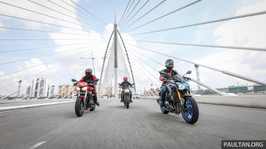 Honda CB650F, Kawasaki Z900 ABS, Triumph 765S, Yamaha MT-09 – which RM50k bike is best for you? Image #829415