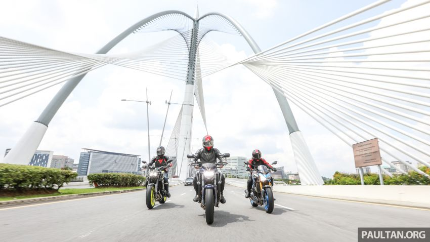 Honda CB650F, Kawasaki Z900 ABS, Triumph 765S, Yamaha MT-09 – which RM50k bike is best for you? Image #829416