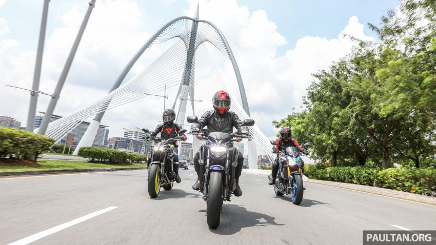 Honda CB650F, Kawasaki Z900 ABS, Triumph 765S, Yamaha MT-09 – which RM50k bike is best for you? Image #829417