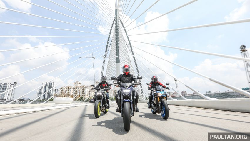 Honda CB650F, Kawasaki Z900 ABS, Triumph 765S, Yamaha MT-09 – which RM50k bike is best for you? Image #829420