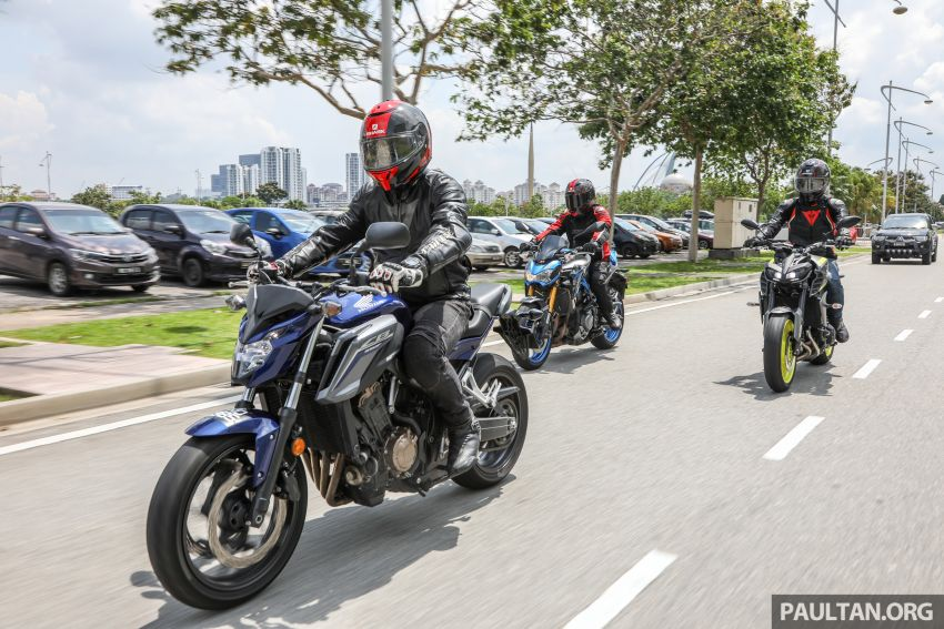 Honda CB650F, Kawasaki Z900 ABS, Triumph 765S, Yamaha MT-09 – which RM50k bike is best for you? Image #829421