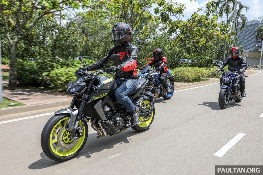 Honda CB650F, Kawasaki Z900 ABS, Triumph 765S, Yamaha MT-09 – which RM50k bike is best for you? Image #829423