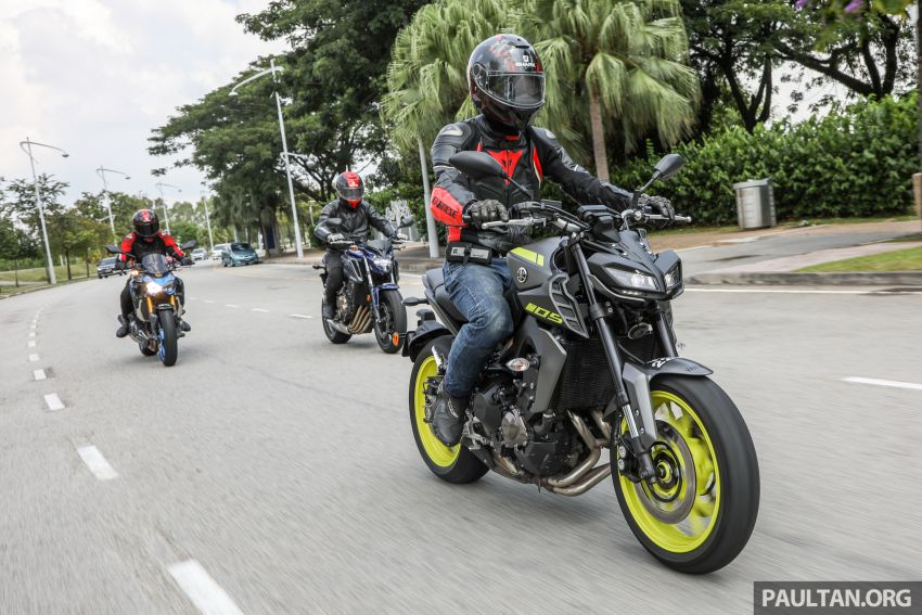 Honda CB650F, Kawasaki Z900 ABS, Triumph 765S, Yamaha MT-09 – which RM50k bike is best for you? Image #829424