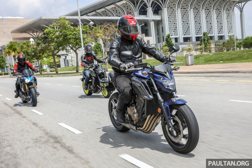Honda CB650F, Kawasaki Z900 ABS, Triumph 765S, Yamaha MT-09 – which RM50k bike is best for you? Image #829426