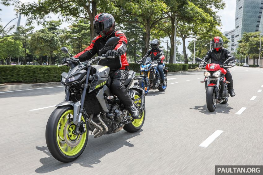 Honda CB650F, Kawasaki Z900 ABS, Triumph 765S, Yamaha MT-09 – which RM50k bike is best for you? Image #829427