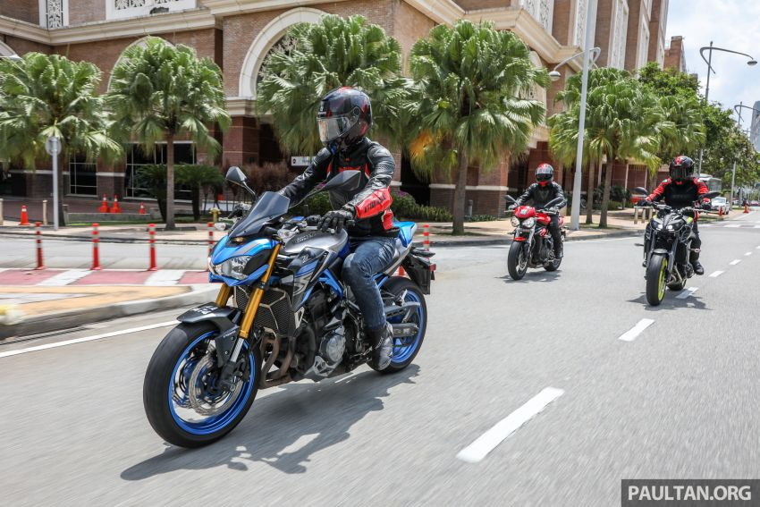 Honda CB650F, Kawasaki Z900 ABS, Triumph 765S, Yamaha MT-09 – which RM50k bike is best for you? Image #829429